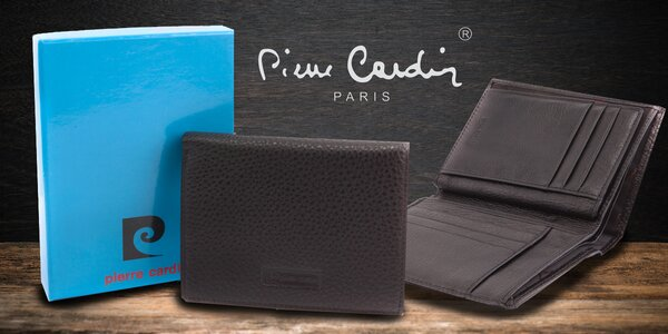 Pánská kožená peněženka Pierre Cardin