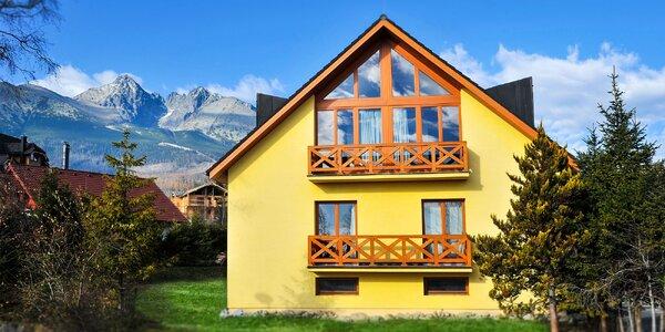 Pobyt pre 2 až 6 osôb vo Vysokých Tatrách
