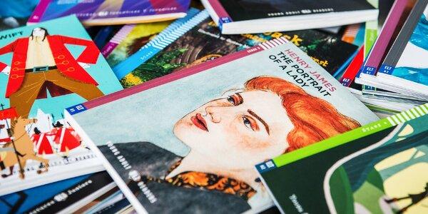 Knihy a CD v anglickom jazyku -