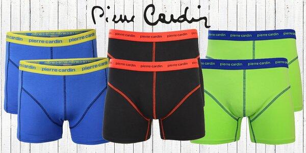2 ks boxeriek Pierre Cardin v štýlových farbách