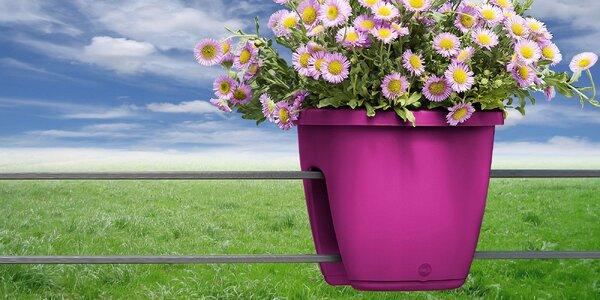 Balkonové samozavlažovacie kvetináče Emsa