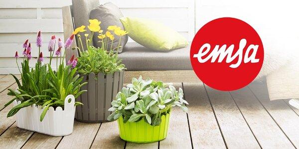 Obrovský výber kvetináčov a truhlíkov Emsa s vidieckym nádychom
