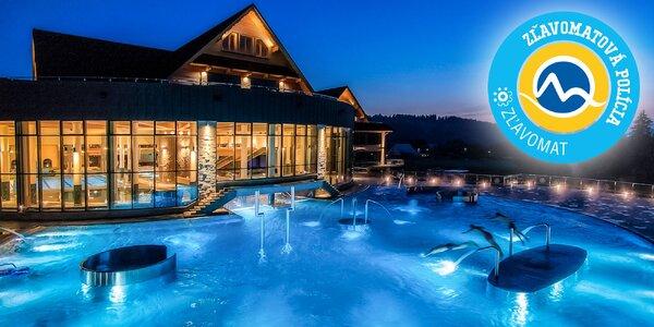 Vstup do bazénového sveta a termálnych vôd
