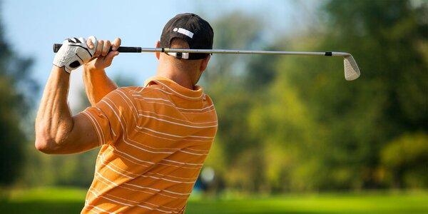 Odpaľujte ako Tiger Woods: lekcie golfu