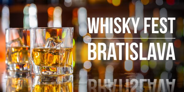 Vstupenka na 3. ročník Whisky festivalu