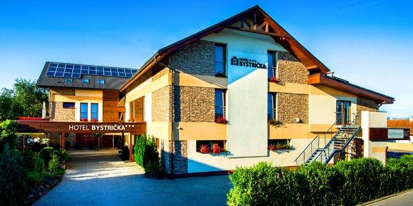 Pohodová dovolenka pre dvoch v Hoteli Bystrička***
