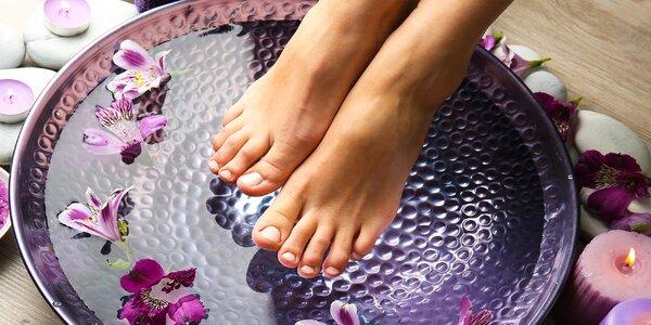 Klasická mokrá pedikúra alebo wellness pedikúra