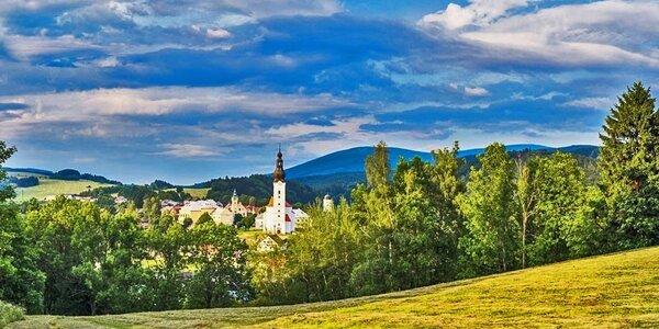 Pohoda v Andělskej hore pre dvoch s polpenziou