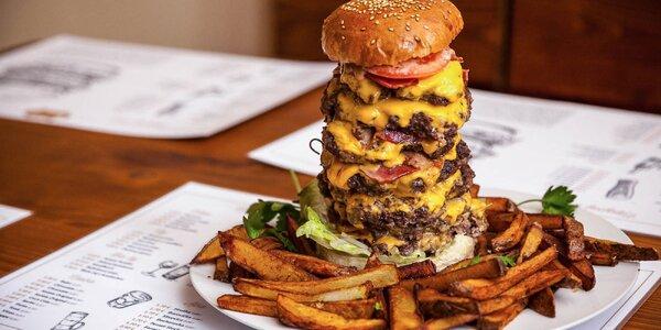 Najväčší burger v Bratislave! No fakt extrém!
