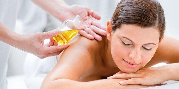 Uvoľňujúca alebo aromatická olejová masáž