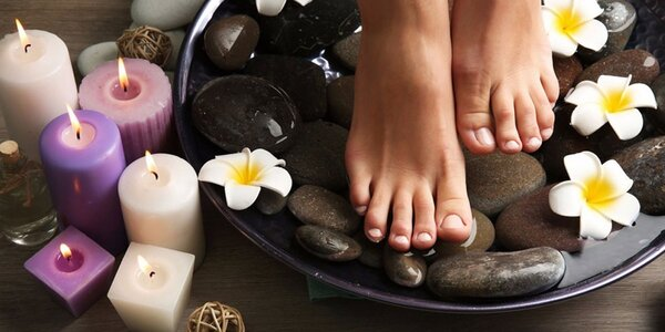 SPA ošetrenie nôh s možnosťou mokrej pedikúry
