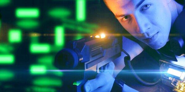 Laser Game v aréne s najnovším vybavením