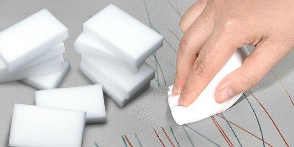 10 x Melamínová nano čistiaca špongia