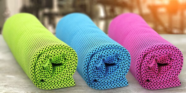 Chladiace uteráky na osvieženie po športe