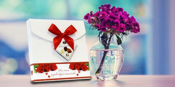 Darčekové bonboniéry na sviatok mamičiek