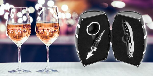 Someliérsky set pre milovníkov vína