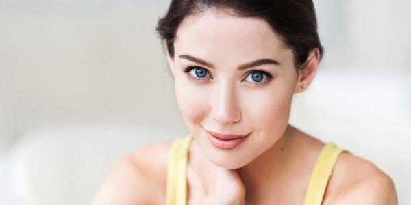 Hĺbkové čistenie pleti alebo omladzujúca masáž