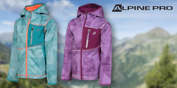 Detská softshellová bunda Alpine Pro Jandro