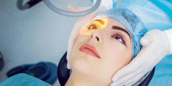 Laserová operácia očí overenou metódou LASEK
