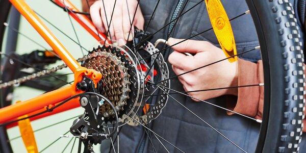 Servis bicyklov v Žiline