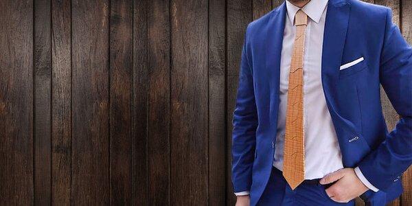Výnimočná a štýlová drevená kravata vhodná aj ako darček!