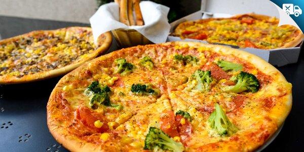 2x alebo 3x PIZZA + 4ks PIZZA štangle na donášku