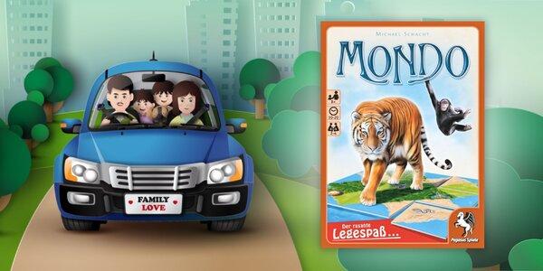 Spoločenská hra Mondo na cesty