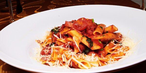 Rizoto alebo cestoviny aj s dezertom v jedinečnej reštaurácii Fellini!
