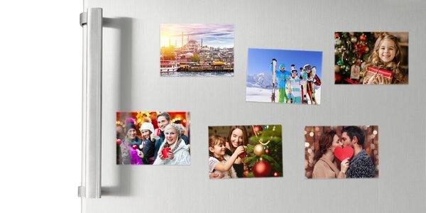 Magnetky z vlastných fotografií