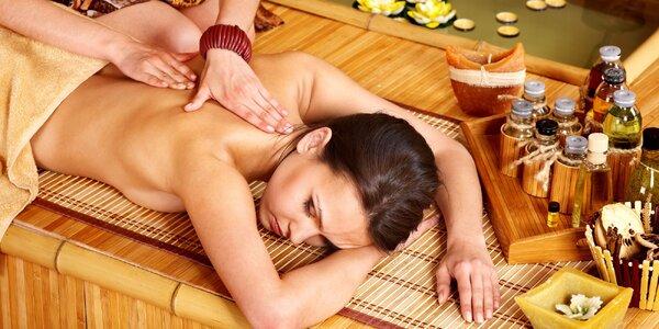 Thajská olejová masáž od pravej Thajky