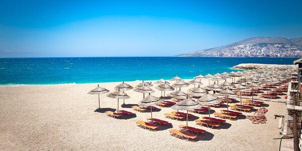 Dračská riviéra! Letná dovolenka pri mori v Albánsku!
