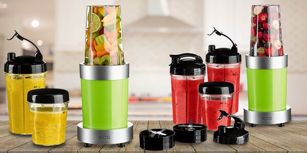 Výkonný smoothie maker od ECG - SM 900 Mix & Go