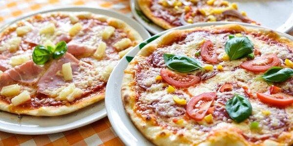 Pizza priamo v centre mesta