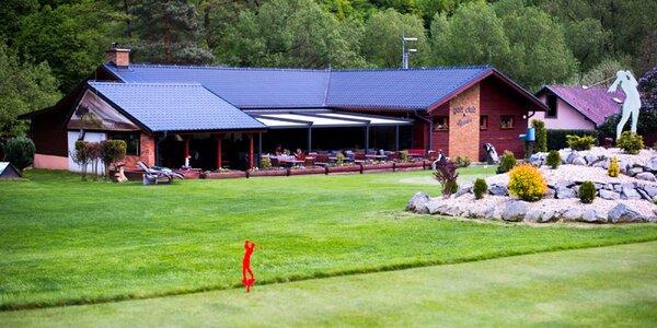 Golf pre začiatočníkov + denné menu