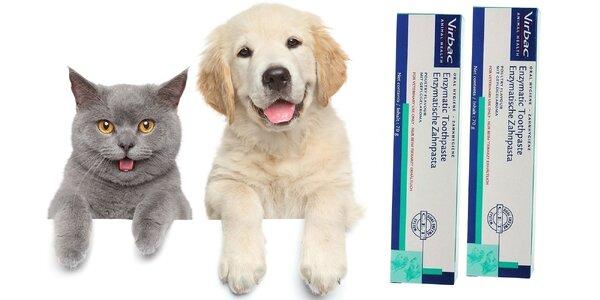 Enzymatická zubná pasta pre psov a mačky