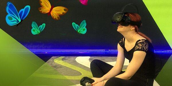 Nová počítačová herňa s virtuálnou realitou