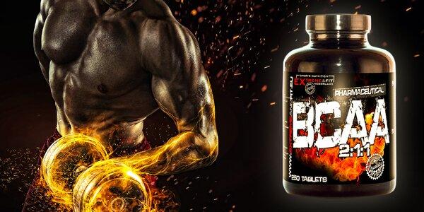 Regenerácia svalov s Extreme&Fit BCAA tabletami