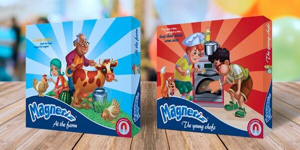 Magnetická hra Magnetiz: popusťte uzdu detskej fantázii