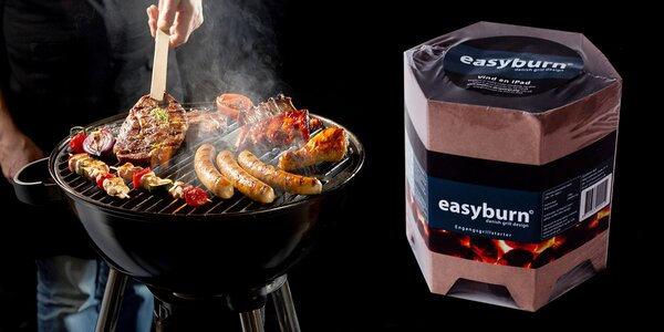 Samozapaľovacie brikety na grilovanie EasyBurn
