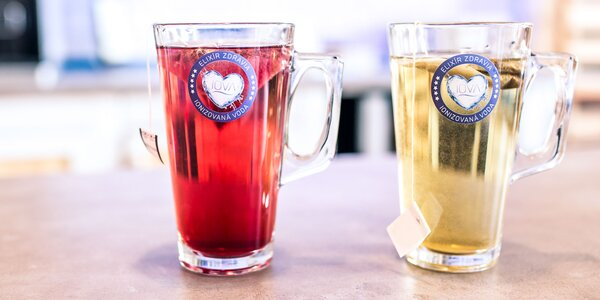 Zdravé čaje a drinky z IOVY v 1. vodnom bistre