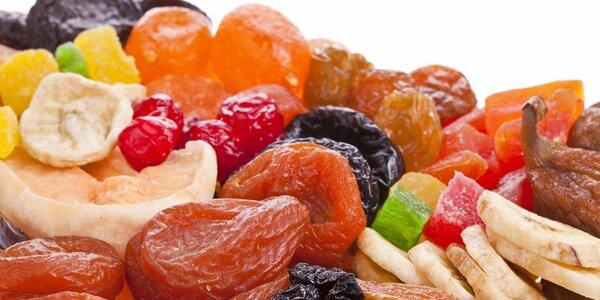 Chutné a zdravé balíčky sušeného ovocia