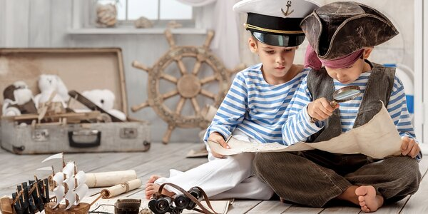 Stratený poklad pirátov - detský letný tábor