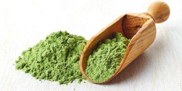 Čarovný detoxikačný prostriedok zelený jačmeň