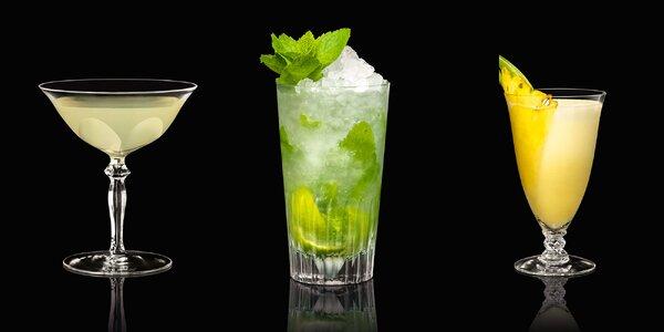 Miešané drinky, ľadová drť v Rotunde Spiegelsaal