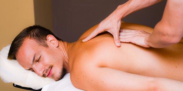 3 druhy masáží na výber. Aj permanentky!
