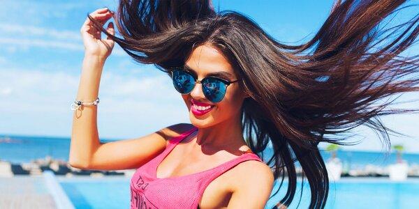 Letná regenerácia alebo Nano smooth pre vlasy