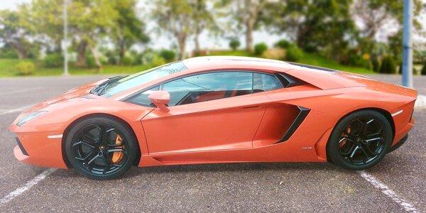 Nezabudnuteľná jazda na Lamborghini Aventador