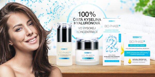 Česká kozmetika BIO-PHASE2® s organickou kyselinou hyalurónovou