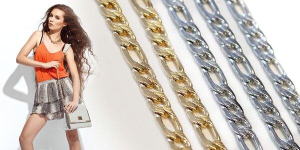 Sada náhrdelníku a náramku z chiriurgickej ocele