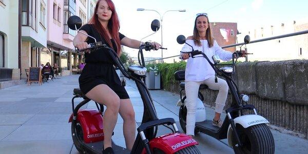Požičanie Eco Harley elektrickej kolobežky